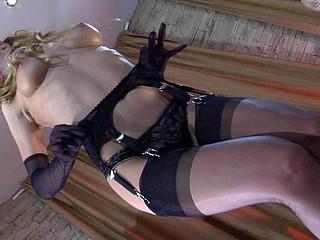 Rosa wearing hawt stockings
