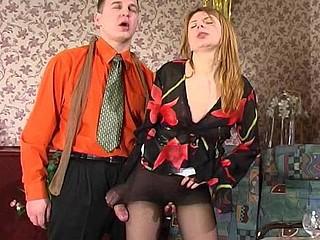 Alice&Peter nasty hose job movie