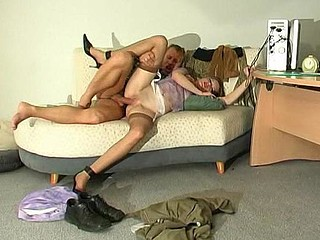Ninette&Adrian mindblowing nylon movie scene