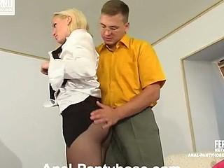 Ira&Peter stunning anal hose act